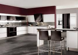 white kitchen cabinets with red walls cheap white kitchen