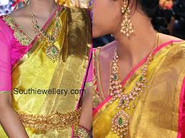 pachi work earrings pachi haram and earrings jewellery designs