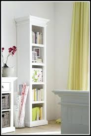Tall Skinny Bookcase Tvilum Fairfax Tall Narrow Bookcase In White Thesecretconsul Com