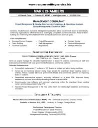Technical Consultant Resume Sample by Management Consultant Resume Sample Resume Writing Service