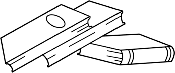 Stack Of Books Coloring Page Free Clip Art Books For Coloring