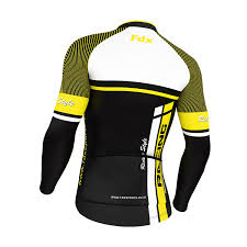 thermal cycling jacket fdx mens cycling jersey long sleeve winter thermal cold wear