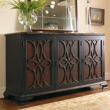 hamilton home living room accents two tone credenza with raised