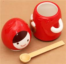 cool cups in the hood red riding hood fairy tale cup canister decole otogicco cups mugs
