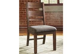 Wood Dining Room Chair Zenfield Dining Room Chair Ashley Furniture Homestore
