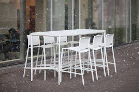 Patio Bar Height Table And Chairs by Avivo Bar Height Table Outdoor Forms Surfaces