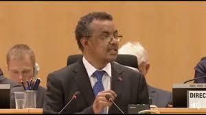 dr tedros adhanom victory speech youtube