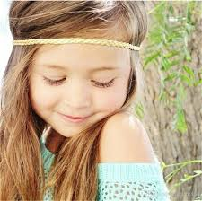 forehead headbands baby headbands gold silver colors elastic braided bands for baby
