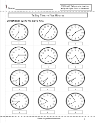 Telling Time To The Nearest Minute Worksheet Telling Quotes Like Success
