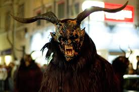 santacon costume krampus night is coming blood curdling blog