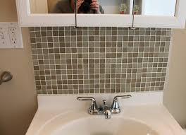 Home Project Bathroom Tile Backsplash  Domestocrat - Tile backsplash bathroom