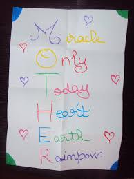 Halloween Acrostic Poem Examples Enjoy Teaching English Mother U0027s Day Acrostic Poems
