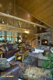 eagle home interiors golden eagle log and timber homes log home cabin pictures