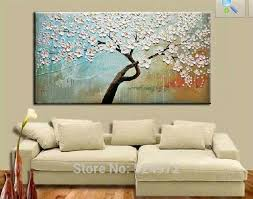 home decor wall pictures 100 hand painted modern home decor wall art picture white flower