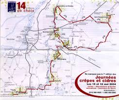 Map Of Quebec Province Route Des Cidres Monteregie Qc Map Jpg