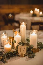 candle centerpiece wedding color of the year 2017 greenery wedding centerpiece ideas