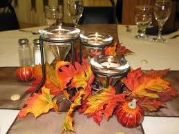 fall table decorations fall wedding decoration ideas