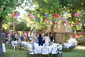 outside party outdoor party decorating ideas