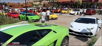 lamborghini car owners in chennai why does bangalore the number of supercars in india