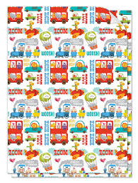 children s gift wrap and card set by jules and joe