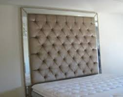 Tufted Upholstered Headboard King Size Tufted Upholstered Headboard Foter