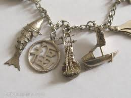 antique charm bracelet charms images Antiques atlas chinese silver charm bracelet twelve charms jpg