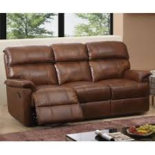 Hyde Line Furniture Solenson Leather Layflat Reclining  Seater - Leather 3 seat sofa