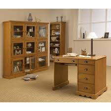 bureau pin miel bureau 9 tiroirs caisson hauteur de bureau 4 tiroirs bureau