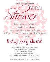 bridal invitation wording bridal shower invitation wordings wordings and messages