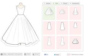 design your own dress design your own wedding dress online free