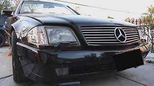 how to remove front grille on mercedes 500sl install grille on