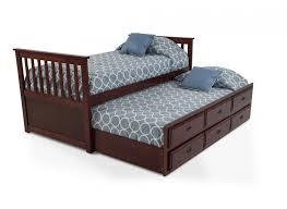 Captains Bunk Beds Chadwick Captain Bed With Trundle Captains Bed Bed