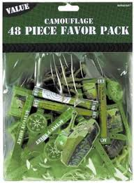 Camouflage Favors by Camouflage Favor Pack 48pc Camouflage Favors And Loot Bags