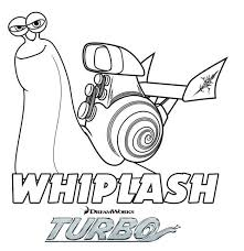 coloriage a imprimer turbo l escargot