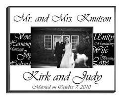 Personalized Wedding Photo Frame Mr And Mrs Wedding Frame Personalized Wedding Gifts