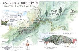 Blue Ridge Mountains Map Blackrock Mountain Hiking Guide Visit Nc Smokies