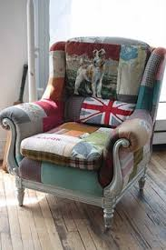 Funky Armchairs Fabulous Vintage Frame With Black High Gloss Frame Reupholstered