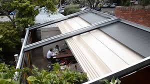 Retractable Pergola Awning by Downee Easyshade Motorised Pergola Commercial Shade System