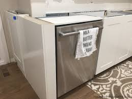 ikea kitchen cabinet with sink creating a wrap around cabinet moving the dishwasher