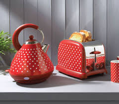 Red Polka Dot Kettle And Toaster Welcome To Kalorik Uk