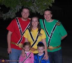 Power Rangers Halloween Costumes Adults Diy Halloween Costumes Families
