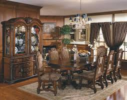 Michael Amini Dining Room Furniture by Dining Room Set With China Cabinet Aico Michael Amini Pc Cortina