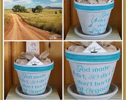 personalized flower pot scripture pots etsy