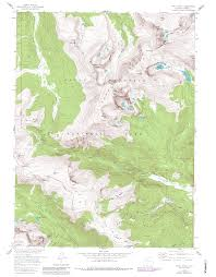 National Parks In Colorado Map by Lawn Lake Colorado