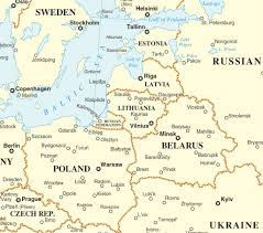 Baltic States Map The Expensive Pretzel Logic Of Deterring Russia By Denial