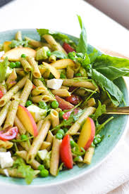Pasta Salas Spring Pasta Salad With Basil Vinaigrette