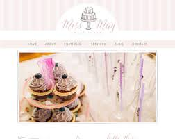wedding cake websites bakery website etsy
