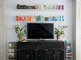 Livingroom Shelves 12 Ways To Decorate With Floating Shelves Hgtv U0027s Decorating