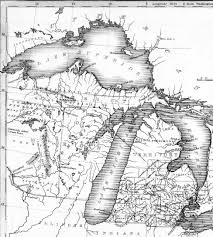 Road Map Of Michigan John L U0027s Old Maps Part 1