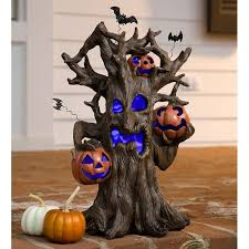 plow hearth lighted spooky tree decoration reviews